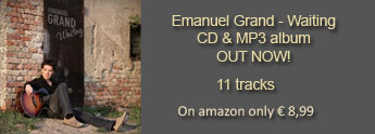 """Emanuel Grand - Waiting"" 11 tracks album out now, amazon price € 8,99"