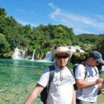 Krka Wasserfälle Kroatien Urlaub Segetörn