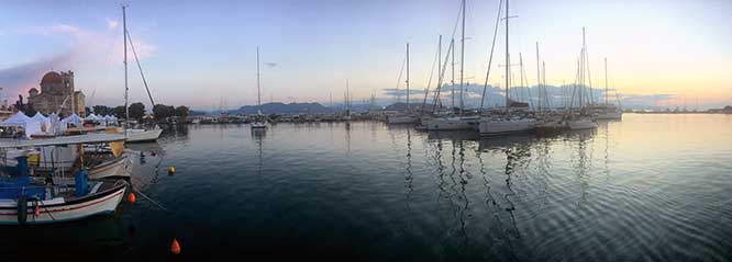 Aegina Greek Sailing Harbor