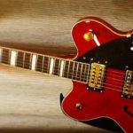 Hollowbody guitar gretsch